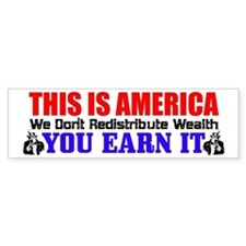 """This Is America"" Bumper Bumper Sticker"