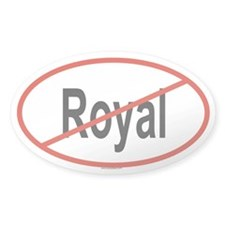 ROYAL Oval Decal