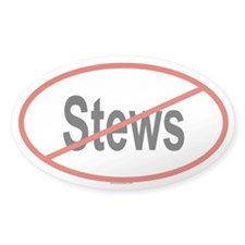 STEWS Oval Decal