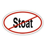 STOAT Oval Decal