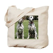 Unique Jumping dog Tote Bag