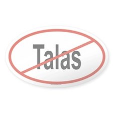 TALAS Oval Decal
