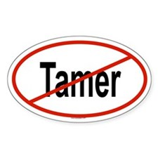 TAMER Oval Decal