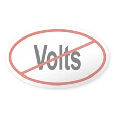VOLTS Oval Decal