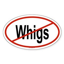 WHIGS Oval Decal