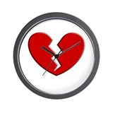 Broken Heart | Wall Clock