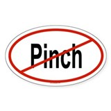 PINCH Oval Decal