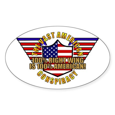 Amercian VRWC Oval Sticker