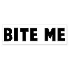 Bite me Bumper Car Sticker