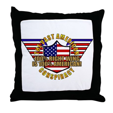 Amercian VRWC Throw Pillow