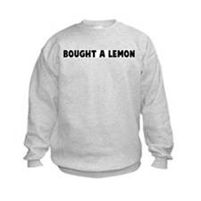 Bought a lemon Sweatshirt