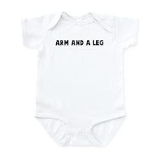 Arm and a leg Onesie