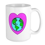 Love Our Planet Large Mug