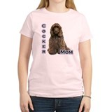 Cocker(brn) Mom4 T-Shirt