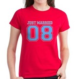 Just Married 08 (Blue) Tee