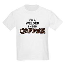 Welder Need Coffee T-Shirt