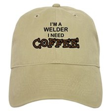 Welder Need Coffee Baseball Cap