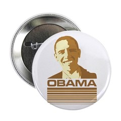 "Barack Obama (Retro Brown) 2.25"" Button"