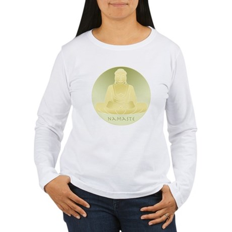 Yoga Buddha 4 Women's Long Sleeve T-Shirt
