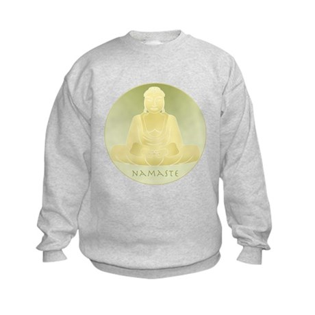 Yoga Buddha 4 Kids Sweatshirt