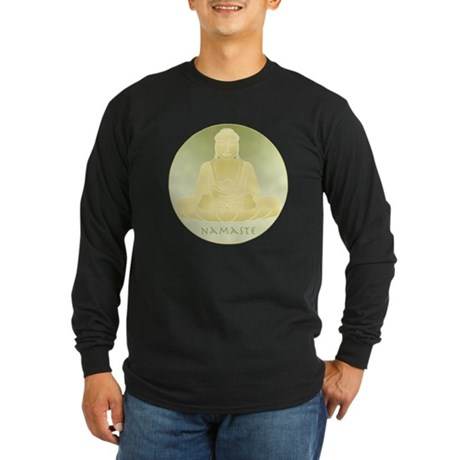 Yoga Buddha 4 Long Sleeve Dark T-Shirt