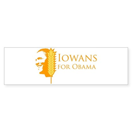 Iowans for Obama Bumper Sticker