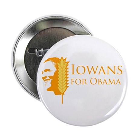 "Iowans for Obama 2.25"" Button"