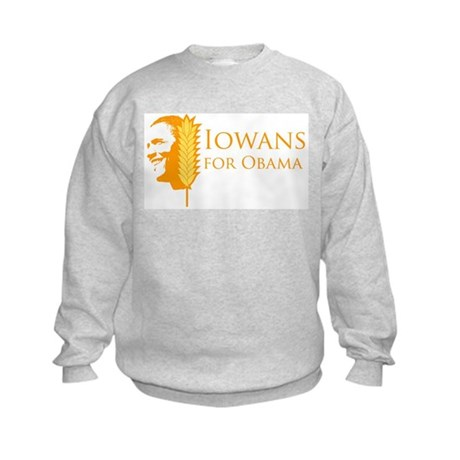 Iowans for Obama  Kids Sweatshirt