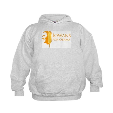 Iowans for Obama  Kids Hoodie