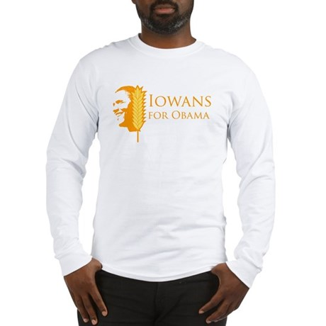 Iowans for Obama  Long Sleeve T-Shirt