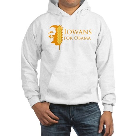 Iowans for Obama Hooded Sweatshirt