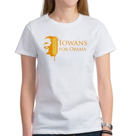 Iowans for Obama Womens T-Shirt