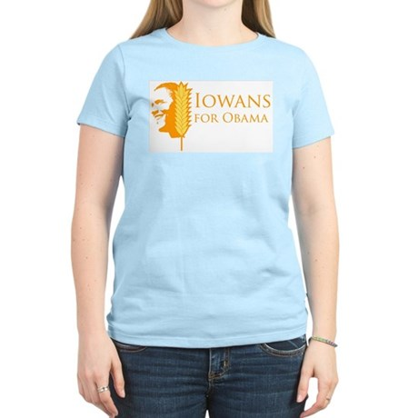 Iowans for Obama  Womens Light T-Shirt