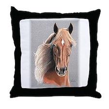 Paso Fino Horse by Delia Throw Pillow