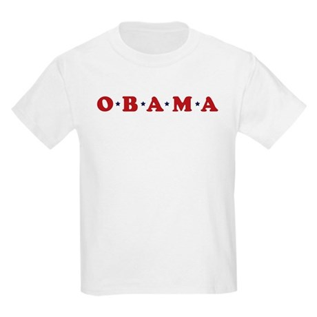 Obama (simple stars) Kids Light T-Shirt