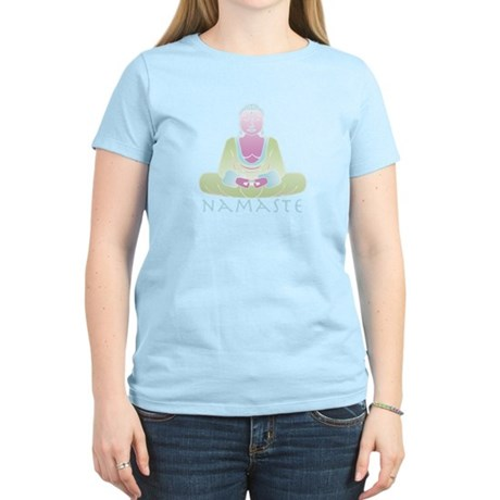 Yoga Buddha 5 Women's Light T-Shirt
