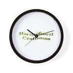 Horticultural Craftsman Wall Clock