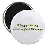 Garden Craftsman Magnet