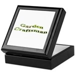 Garden Craftsman Keepsake Box