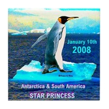 Antarticia & South America 2008 - Tile Coaster