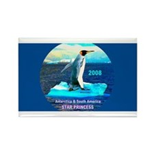 Antarticia & South America 2008 - Rectangle Magnet