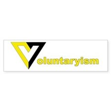 Voluntaryist Bumper Bumper Sticker