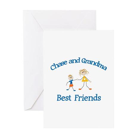 Chase & Grandma - Best Friend Greeting Card