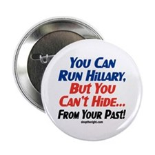 "You Can Run Hillary 2.25"" Button (10 pack)"