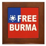Free Burma Framed Tile