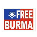 Free Burma Postcards (Package of 8)