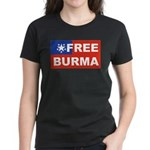 Free Burma Women's Dark T-Shirt