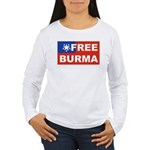 Free Burma Women's Long Sleeve T-Shirt