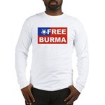 Free Burma Long Sleeve T-Shirt