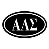 ALS Oval Decal